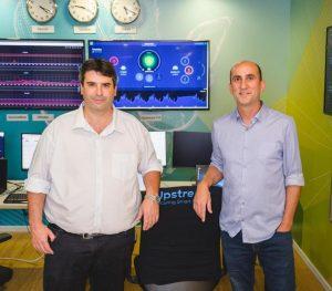 שותפים מייסדים אפסטרים סקיוריטי יואב לוי מנכל החברה ויונתן אפל סמנכל טכנולוגיות. צלם ירין טרנוס